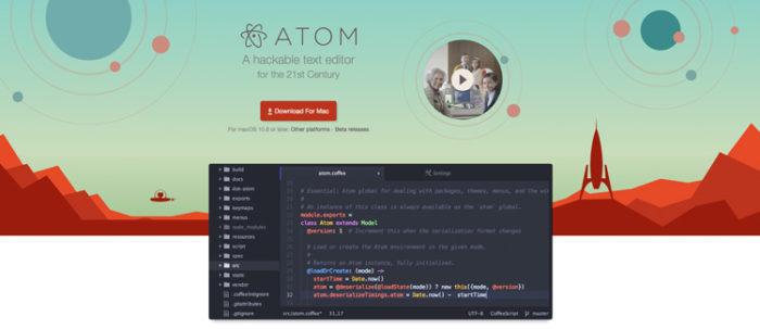 Atom Texteditor