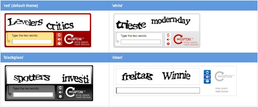 reCAPTCHA v1